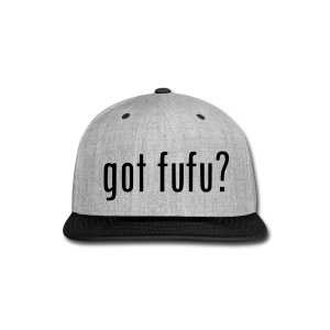 Accessories-- Snapback - Grey-Black - Snap-back Baseball Cap