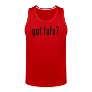 Mens-Sleeveless-Red-Black - Men's Premium Tank