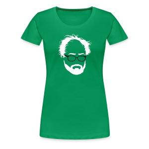 Womans Beards for Bernie Head tee! - Women's Premium T-Shirt