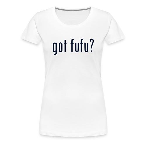 Ladies-Premium Tee-White-Black Glitz - Women's Premium T-Shirt