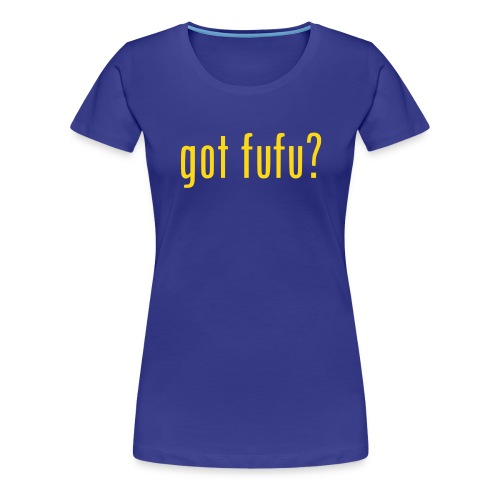 Ladies-Premium Tee - Royal-Gold Velvet - Women's Premium T-Shirt