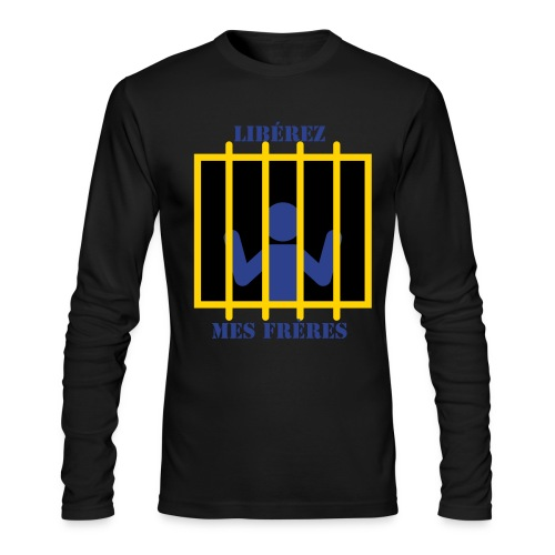 FREE THE GUYS - Men's Long Sleeve T-Shirt by Next Level