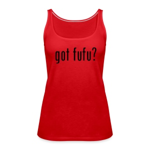 Ladies-Tank-Red-Black - Women's Premium Tank Top