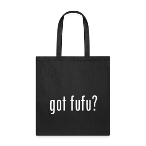 Accessories-Tote Bag--Black-White Velvet - Tote Bag