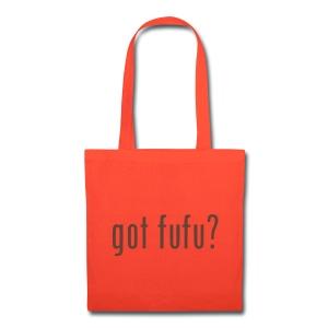 Accessories-Tote Bag--Orange-Chocolate Velvet - Tote Bag