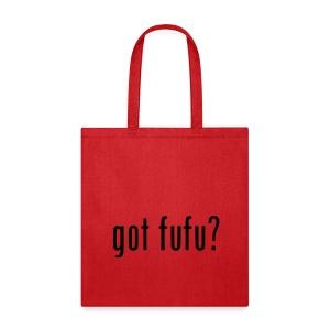 Accessories-Tote Bag--Red-Black Velvet - Tote Bag