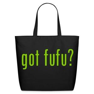 Accessories-Eco Tote Bag - Black - AppleGreen - Eco-Friendly Cotton Tote