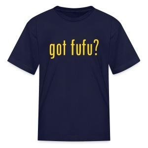 Kids - Tee- Navy - Gold - Kids' T-Shirt