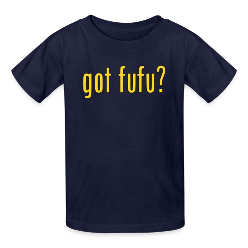 Kids - Tee- Navy - Gold - Kids' T-Shirt