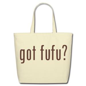 Accessories- Denim Woven Tote Bag - Natural - Chocolate Velvet - Eco-Friendly Cotton Tote