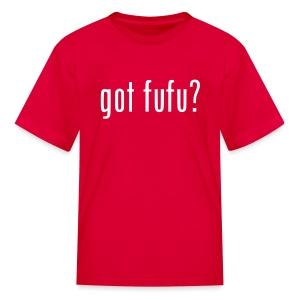 Kids - Tee- Red - White - Kids' T-Shirt