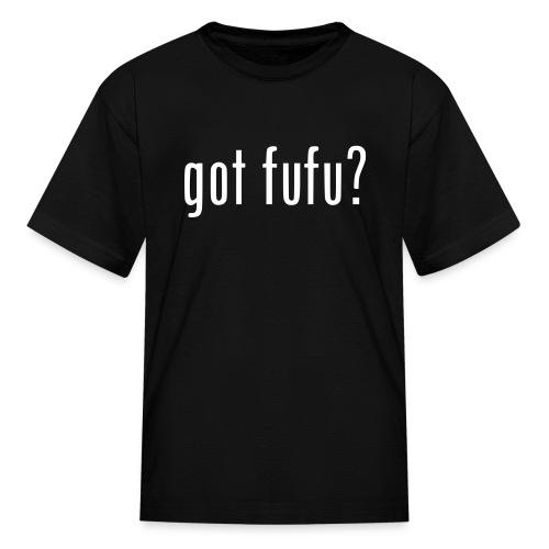 Kids - Tee- Black - White - Kids' T-Shirt