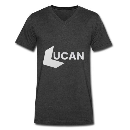 Mens LUCAN T-Shirt V-Neck - Men's V-Neck T-Shirt by Canvas