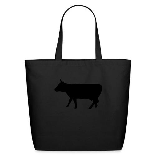 Eco-Friendly Cotton Tote (Black Cow) - Eco-Friendly Cotton Tote