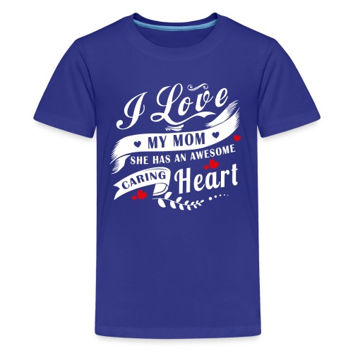 I Love My Mom 4 - Kids' Premium T-Shirt