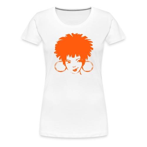 Futprnts Workshop Hoops Women's T-Shirt - Women's Premium T-Shirt