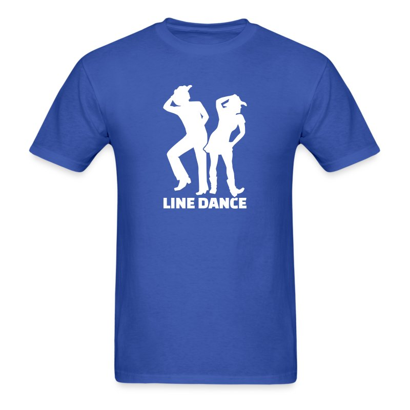 line dance t shirt spreadshirt. Black Bedroom Furniture Sets. Home Design Ideas