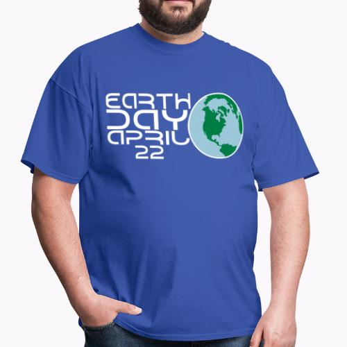 Earth Day April 22 - Men's T-Shirt