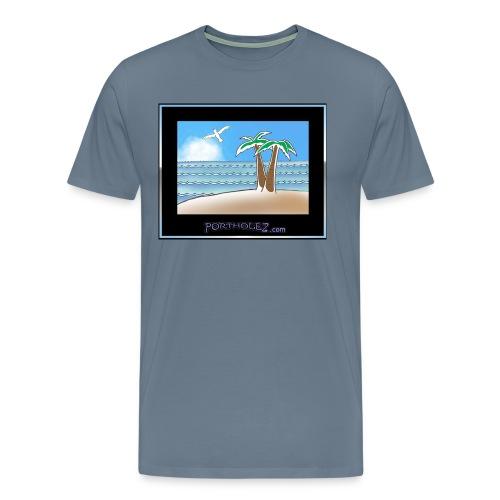 Beachie - Men's Premium T-Shirt