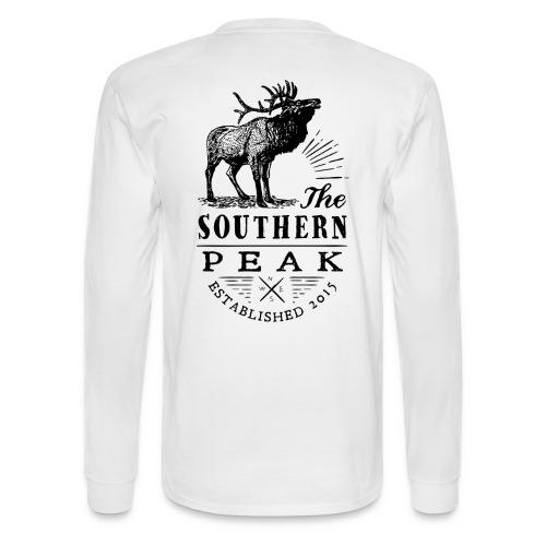 The Moose - Long Sleeve WHITE - Men's Long Sleeve T-Shirt