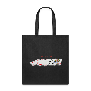Think A Card Tote - Tote Bag