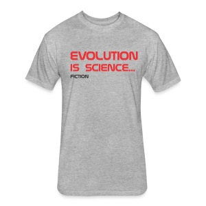 Science fiction - Fitted Cotton/Poly T-Shirt by Next Level