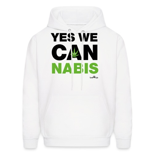 Yes We Cannabis - Men's Hoodie