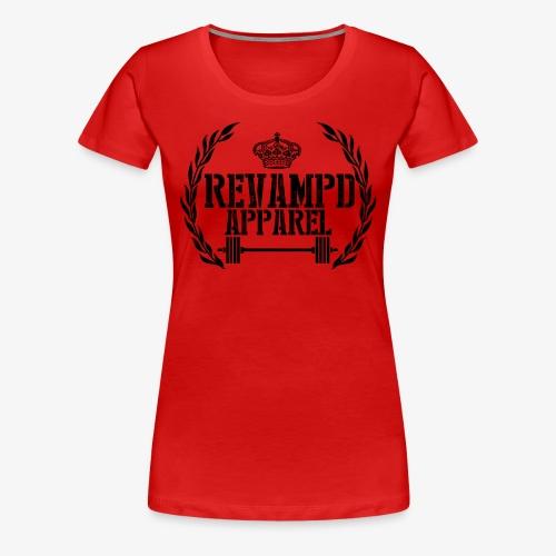 Womens Revampd Logo Tee - Women's Premium T-Shirt