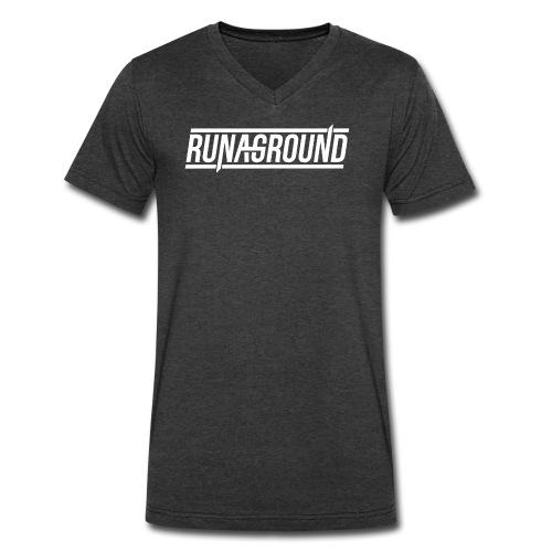 RUNAGROUND V-Neck - Men's V-Neck T-Shirt by Canvas