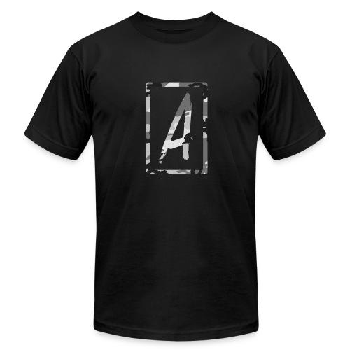 ArtLocke - Snow Camo Artist Tee - Men's Fine Jersey T-Shirt