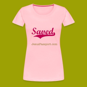 Saved-ShortSlv - Women's Premium T-Shirt