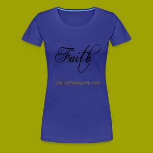 Faith-ShortSlv - Women's Premium T-Shirt