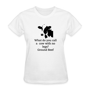 Cow Graphic - Women's T-Shirt