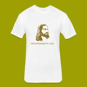 JesusHead - Fitted Cotton/Poly T-Shirt by Next Level
