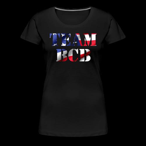 Ladies' Team BCB Flag Shirt - Women's Premium T-Shirt