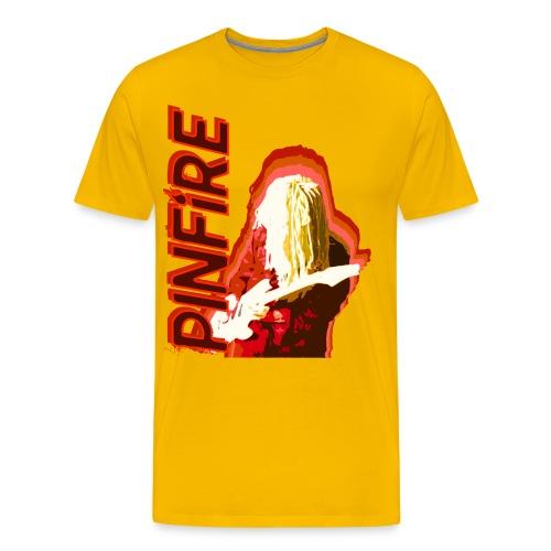 Helmet Head Print T-Shirt - Men's Premium T-Shirt