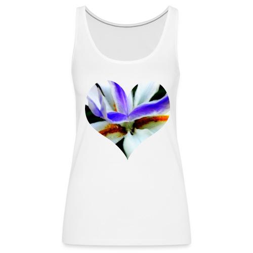 I [heart] Flowers - Women's Premium Tank Top