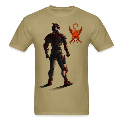 Sunset-Scorpion (SSL) Men's T-Shirt - Men's T-Shirt