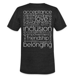 World Down Syndrome Day Unisex Tri-blend Tee - Unisex Tri-Blend T-Shirt