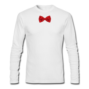 Bow Tie Tee Shirt 2 Color - Men's Long Sleeve T-Shirt by Next Level