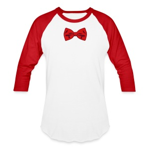 Bow Tie Tee Shirt 2 Color - Baseball T-Shirt