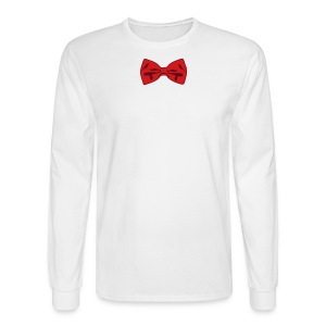 Bow Tie Tee Shirt 2 Color - Men's Long Sleeve T-Shirt