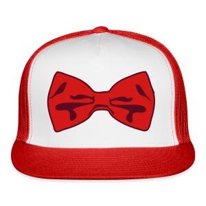 Bow Tie Tee Shirt 2 Color - Trucker Cap