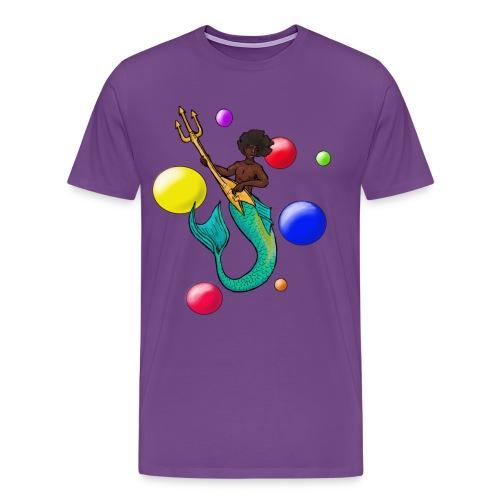 Rock God Hendrix - Men's Premium T-Shirt