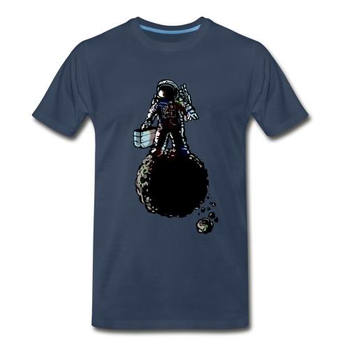 Futprnts Workshop innerstellar salesmen Men's T-shirt  - Men's Premium T-Shirt