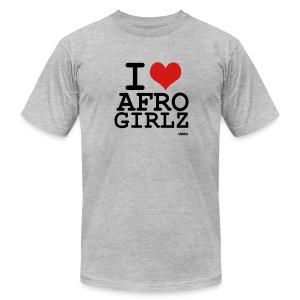 i love my afro girls - Men's Fine Jersey T-Shirt
