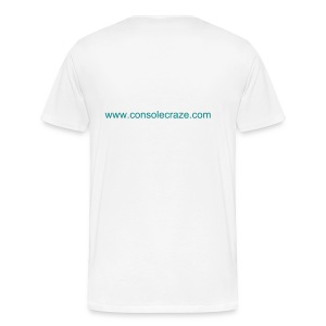 Console Craze Men's T-Shirt Front and Back - Men's Premium T-Shirt