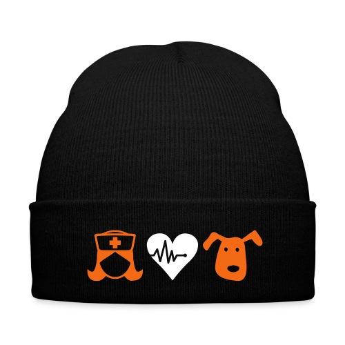 Bennie - Knit Cap with Cuff Print