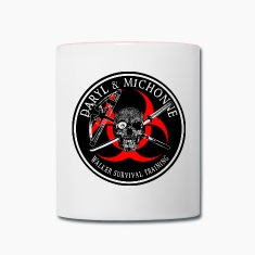 Biohazard Daryl Michonne Mugs & Drinkware