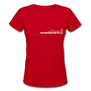 American Outdoors® for Her - Women's V-Neck T-Shirt